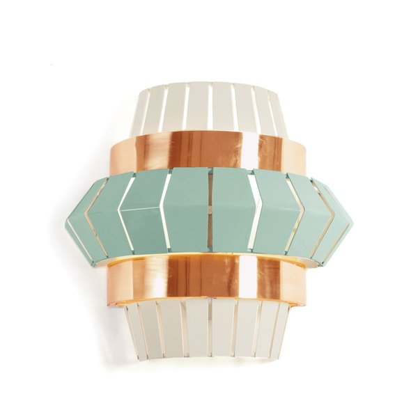 Mambo Unlimited Ideas Wandlampe comb wall mint Kupfer