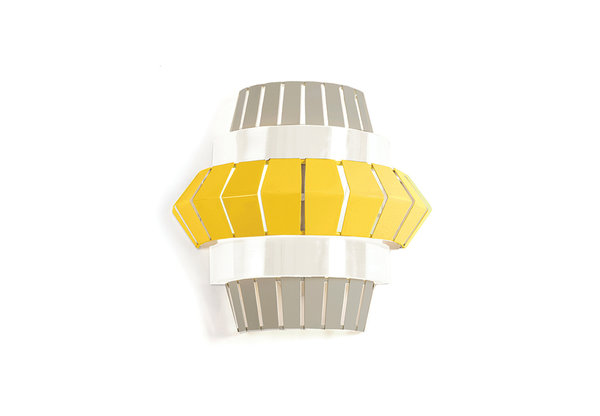 Mambo Unlimited Ideas Wandlampe gelb Comb Wall 4